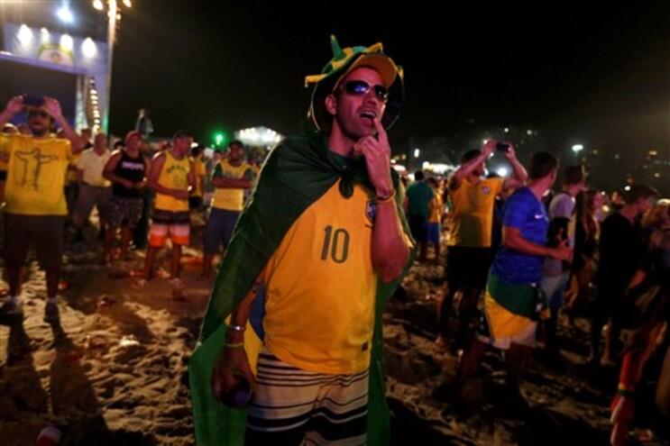 Adeptos em Copacabana