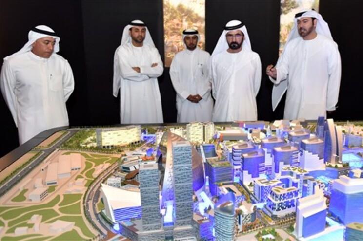 Projeto da nova cidade coberta