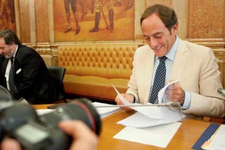 Paulo Portas na Comissão Parlamentar de Inquérito