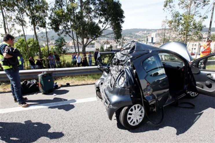Acidentes rodoviários provocaram 254 mortos este ano