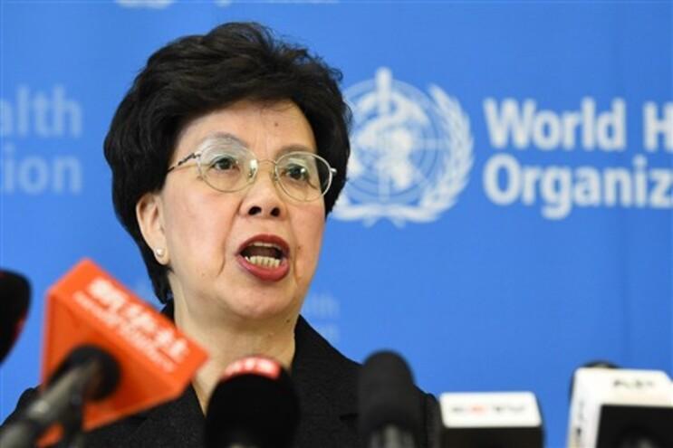 A diretora-geral da OMS Margaret Chan
