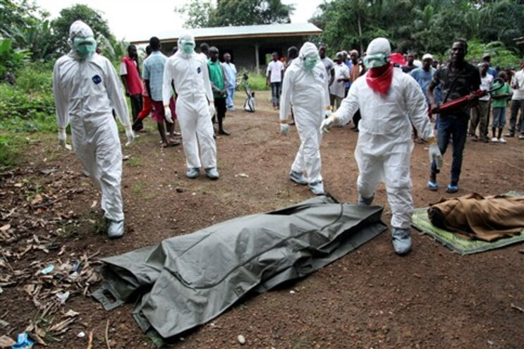 Surto epidémico de ébola regista 961 casos mortais