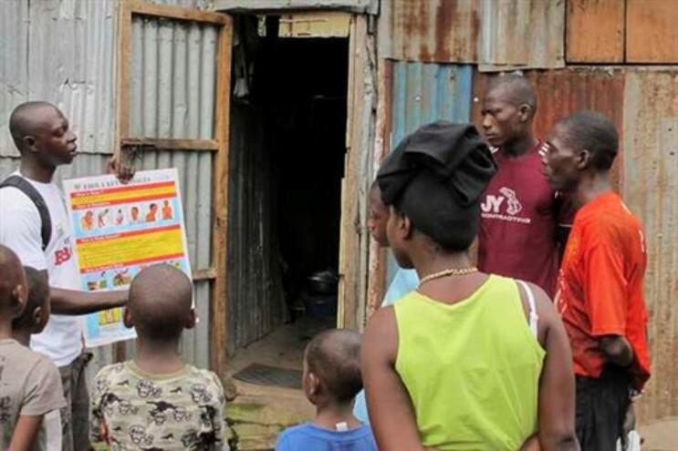 Informação à população sobre o vírus Ébola