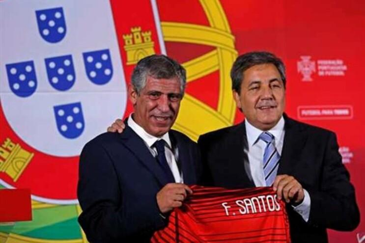 Fernando Santos apresentado por Fernando Gomes