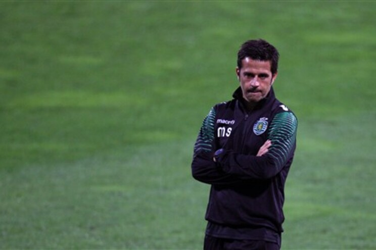 Marco Silva, técnico do Sporting