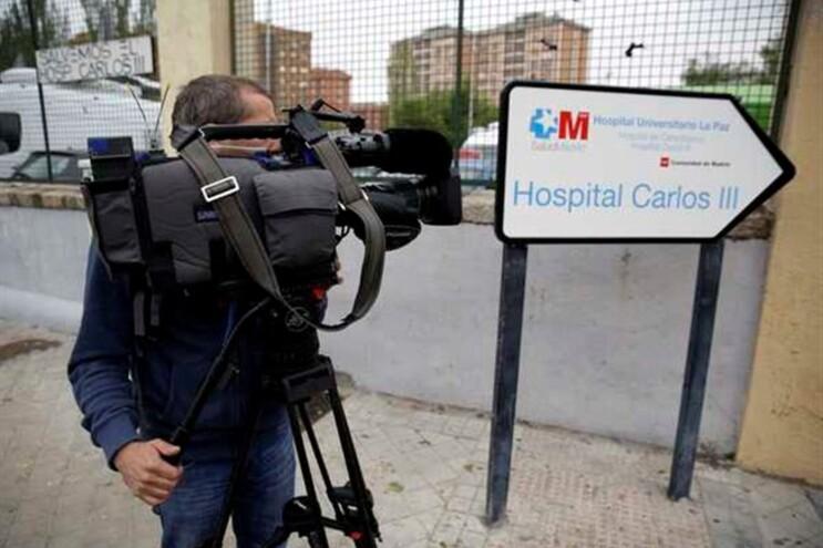 Hospital Carlos III, em Madrid, está a acompanhar cinco pessoas no âmbito do Ébola