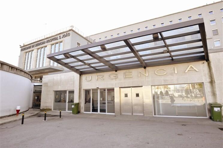 Hospital S. João, no Porto