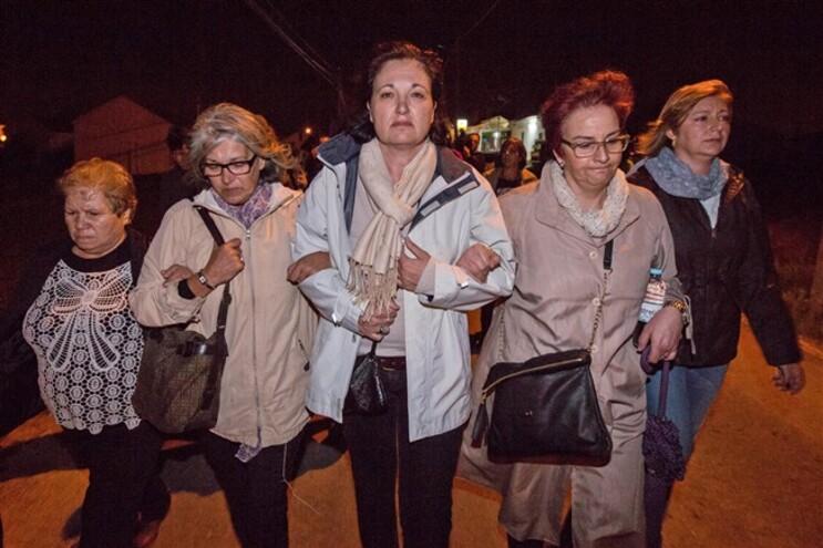 Familiares fizeram caminhada de homenagem e reconstituição da tragédia do Meco