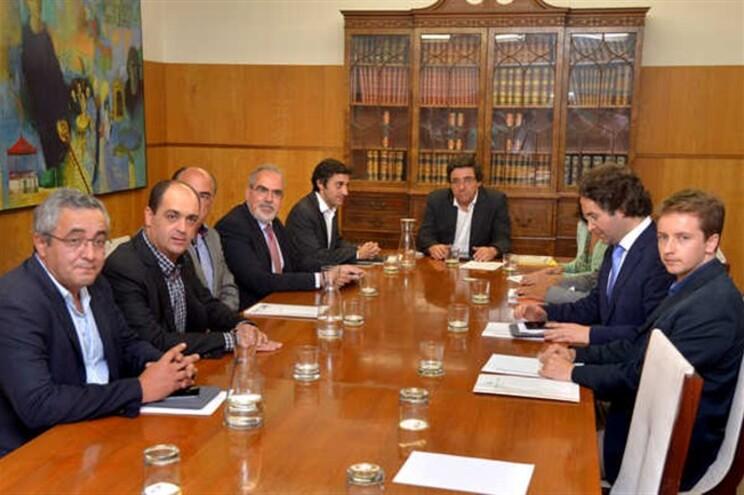 Autarcas reunidos na Câmara de Matosinhos
