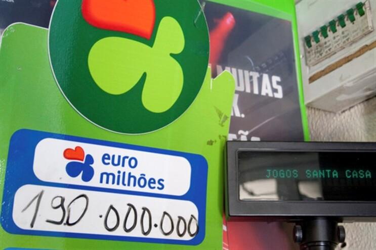 """Em jogo um """"jackpot"""" de 190 milhões de euros"""