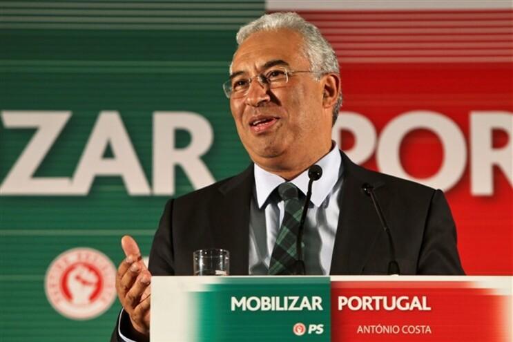 António Costa distingue ação política do PS da solidariedade com Sócrates