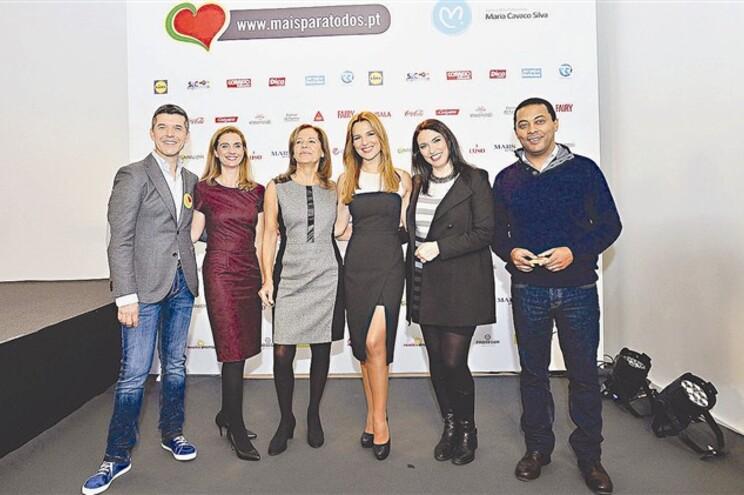 Na foto, os membros do júri, da esq. para a direita; João Baião, Vanessa Romeu, Mercedes Balsemão, Ana