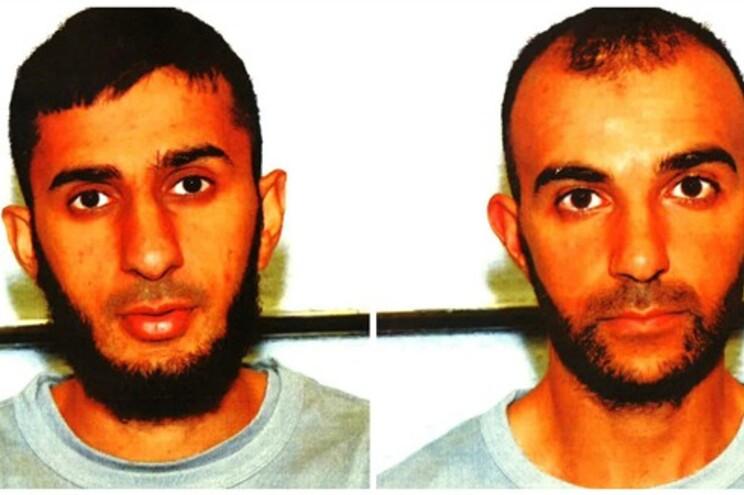 Hamza (esquerda) e Mohommod Nawaz (direita) condenados pela Justiça britânica
