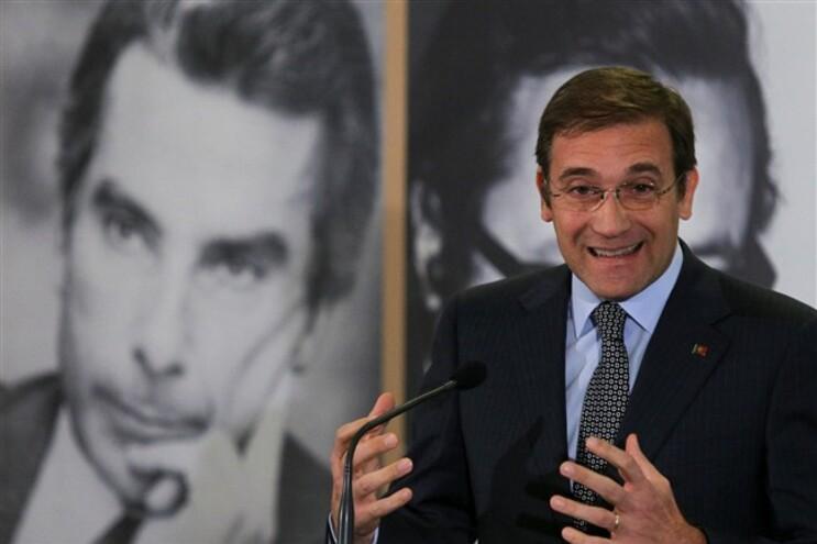Pedro Passos Coelho esteve numa cerimónia evocativa da morte de Sá Carneiro e Adelino Amaro da Costa