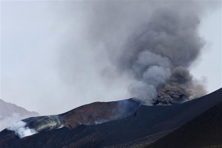 Vulcão entrou em erupção a 23 de novembro