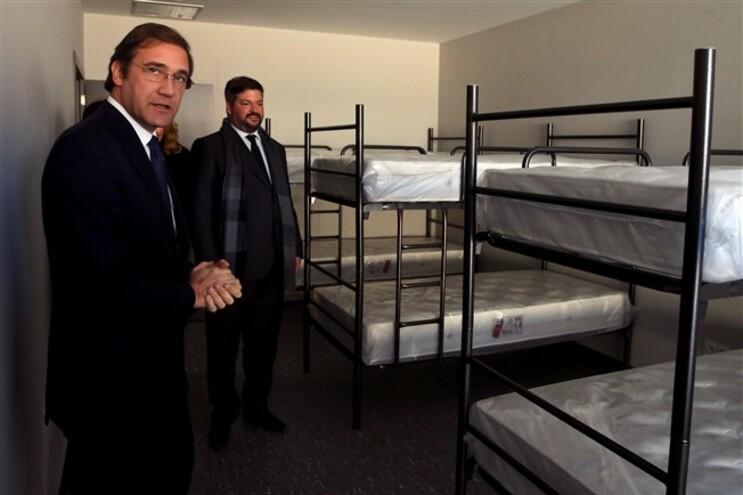 Passos Coelho inaugurou, este domingo, o quartel dos Bombeiros de Vale de Cambra