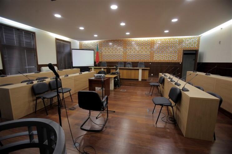 Sala do Tribunal de Setúbal onde é feito o debate instrutório do caso Meco