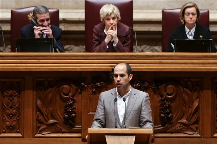 O deputado do Bloco de Esquerda (BE), Pedro Filipe Soares
