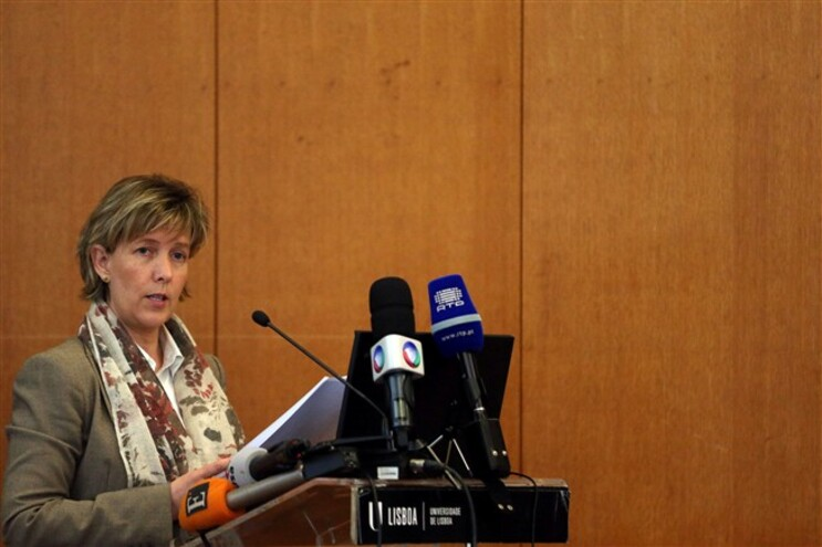 A ministra de Estado e das Finanças, Maria Luís Albuquerque