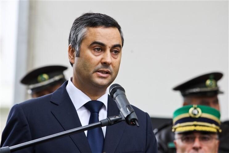 O secretário de Estado ajunto da administração Interna, Fernando Alexandre