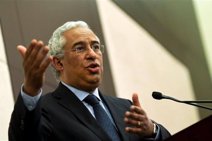 O secretário-geral do Partido Socialista, António Costa