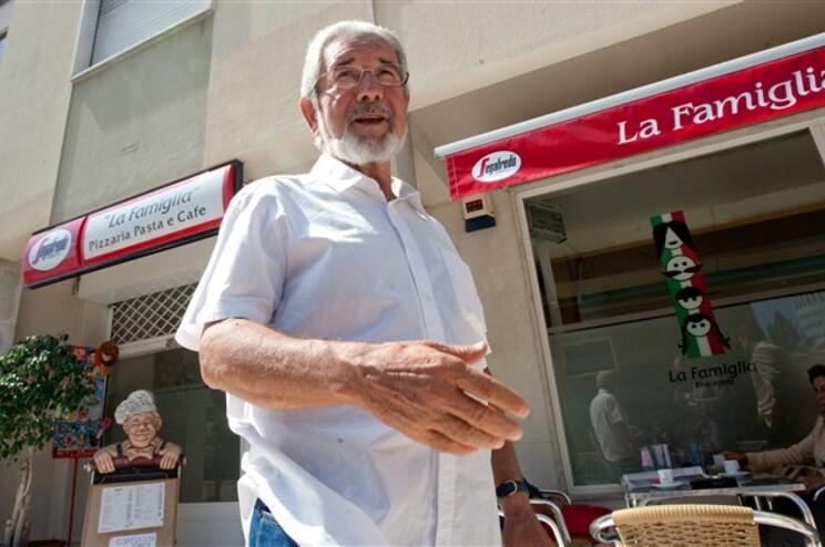 Isaltino Morais pouco depois de sair da cadeia, em junho de 2014