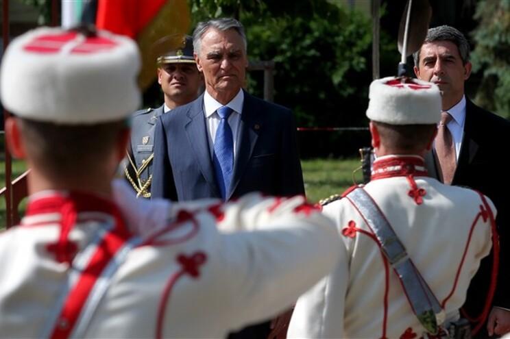 Cavaco Silva está na Bulgária em visita oficial