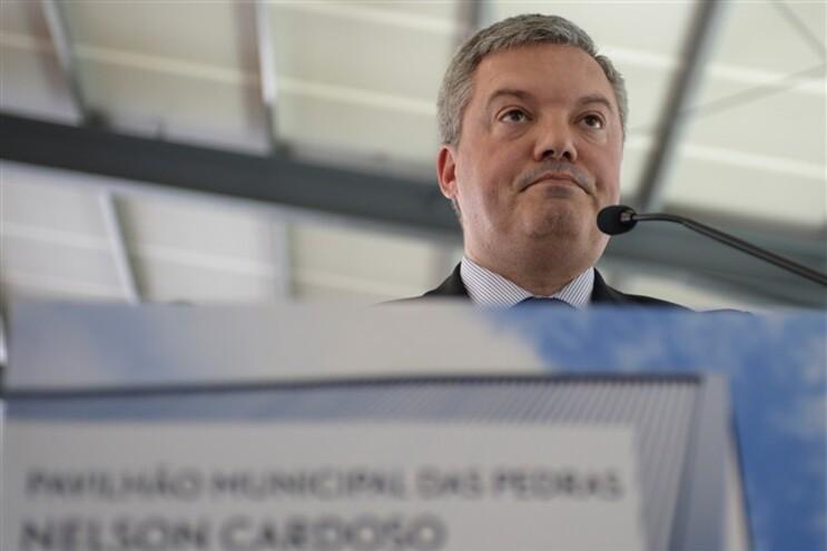 O presidente da Câmara de Gaia, Eduardo Vítor Rodrigues