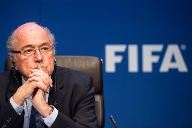 Joseph Blatter, presidente demissionário da FIFA