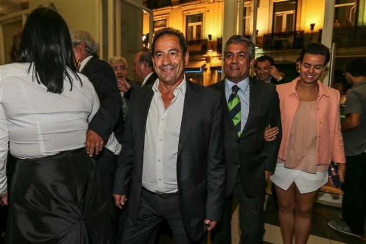 Octavio Machado na II Gala Honoris Sporting no Coliseu dos Recreios, em Lisboa