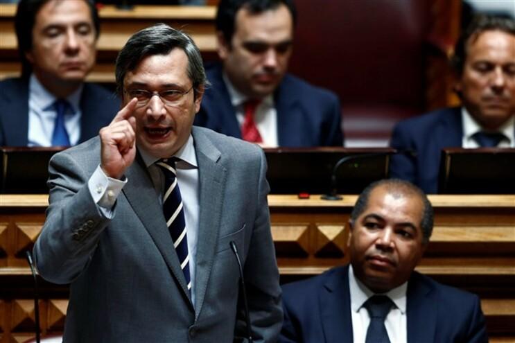 O líder parlamentar do CDS/PP, Nuno Magalhães