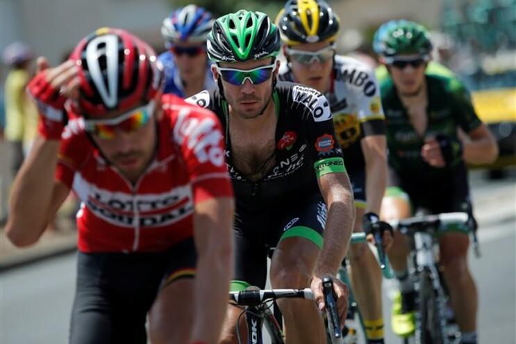Ciclista expulso pertence à Bretagne Séché Environnement