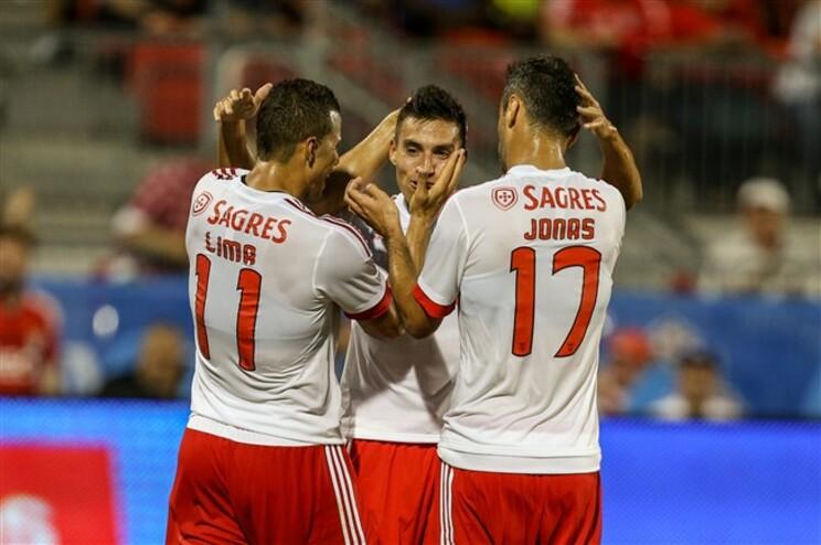 Benfica perde com Paris Saint-Germain para a International Champions Cup