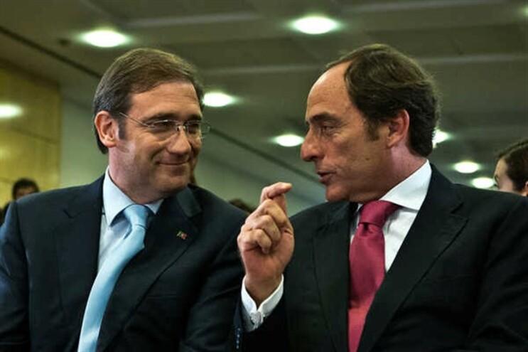 Pedro Passos Coelho e Paulo Portas