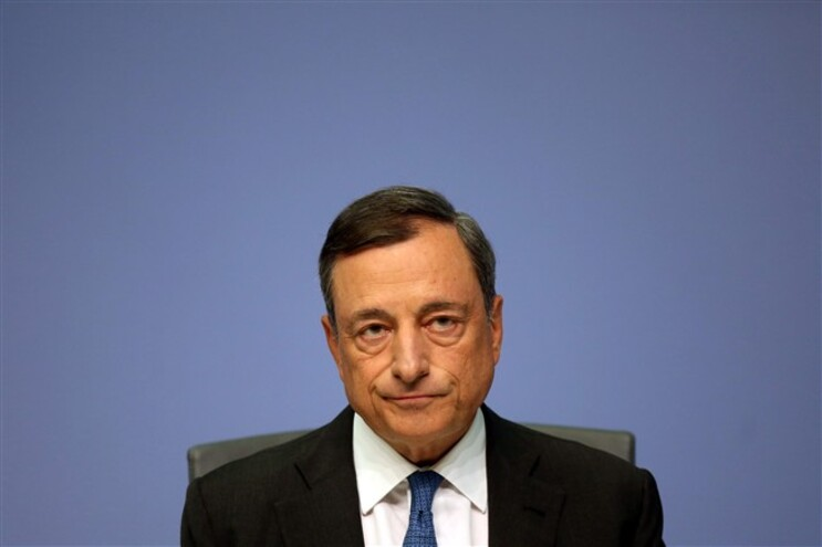 Mario Draghi, presidente do Banco Central Europeu