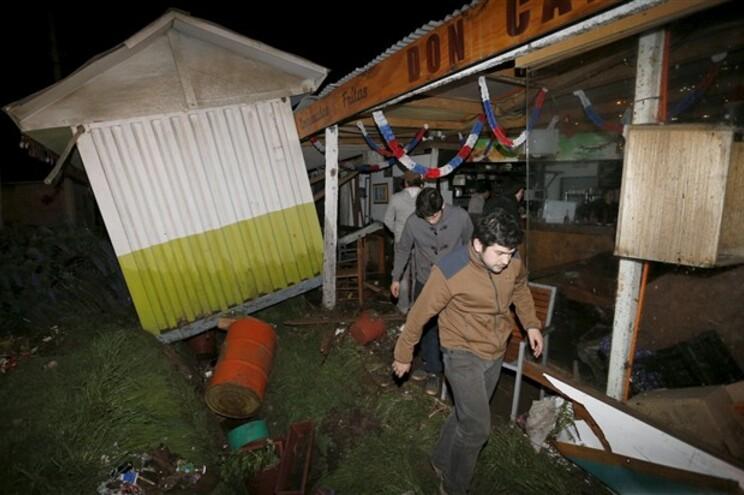 Sismo no Chile provocou dez mortos