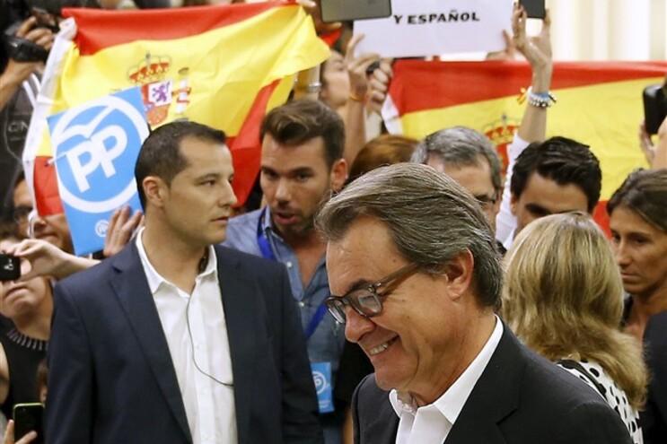 Artur Mas lidera o movimento independentista