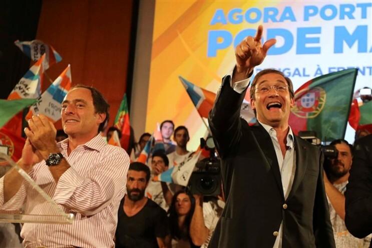Há menos votos desperdiçados na conversão em mandatos com candidatura conjunta