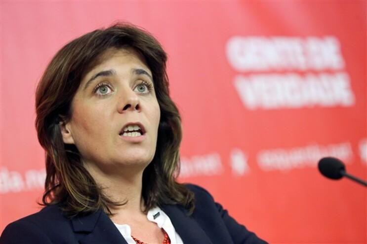 Catarina Martins, porta-voz do BE