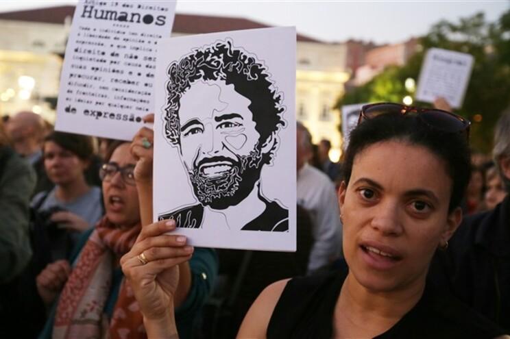 Vigília em Lisboa pela libertação dos ativistas presos em Angola (21 de outubro)