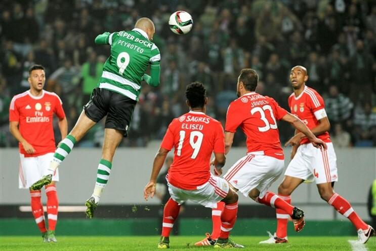 Slimani dá vitória ao Sporting no dérbi com o Benfica