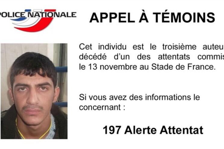 Polícia francesa divulga foto de novo terrorista