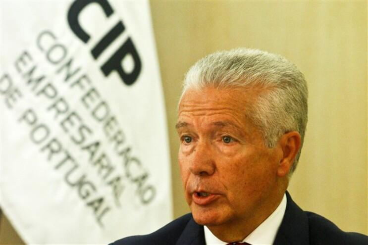 O presidente da Confederação Empresarial de Portugal, António Saraiva