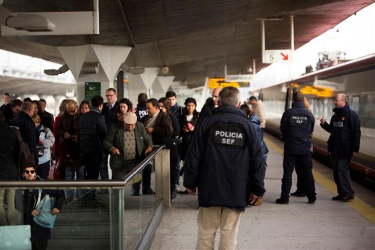 SEF fez fiscalização na estação de Campanhã