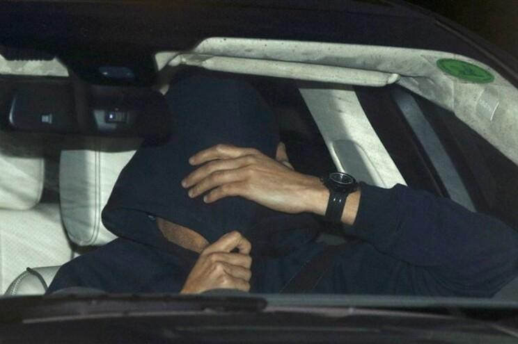 Mourinho, esta quinta-feira, à saída do treino do Chelsea