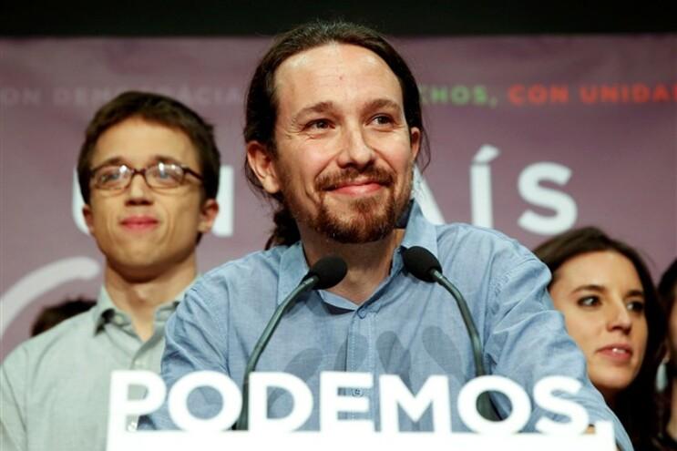 Pablo Iglesias, líder do Podemos