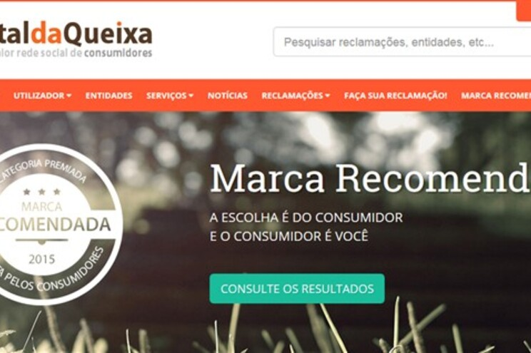 Portal da Queixa está disponível desde 2009