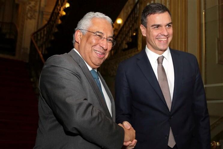 António Costa e Pedro Sánchez