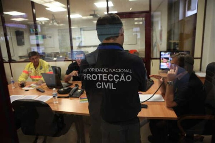 Sede da Proteção Civil, em Carnaxide