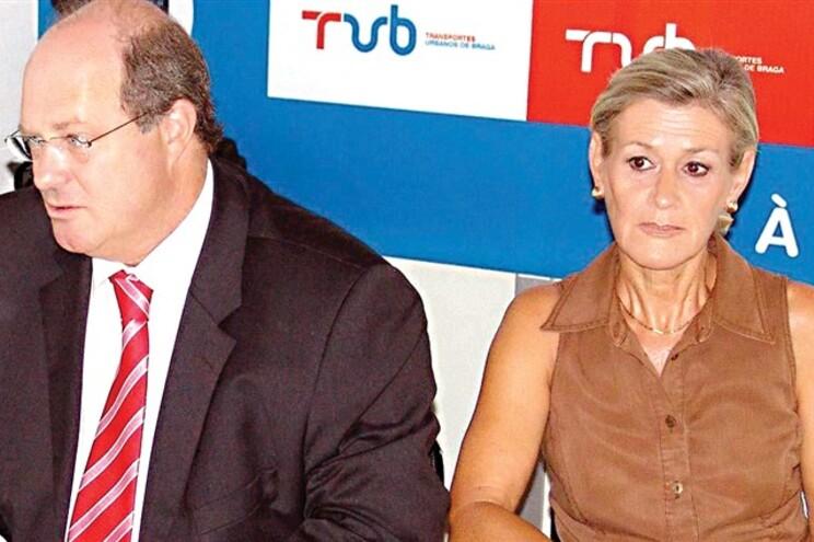 Vítor Sousa e Cândida Serapicos